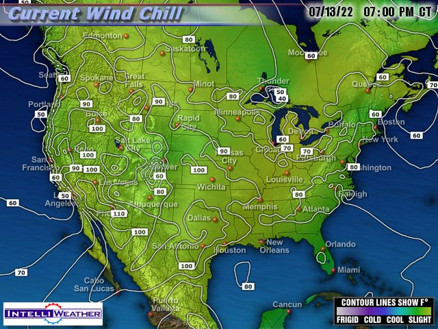 Us Weather Map Wind Chill Images Wind Chill Map Air Sports - Us current temps map